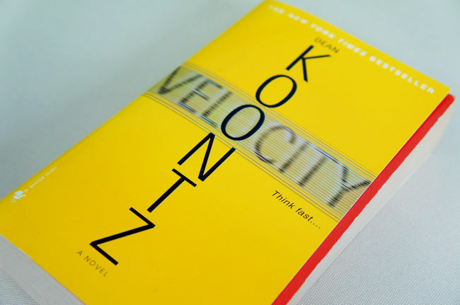 Velocity by Dean Koontz (2005) Review: Why You Should Read It